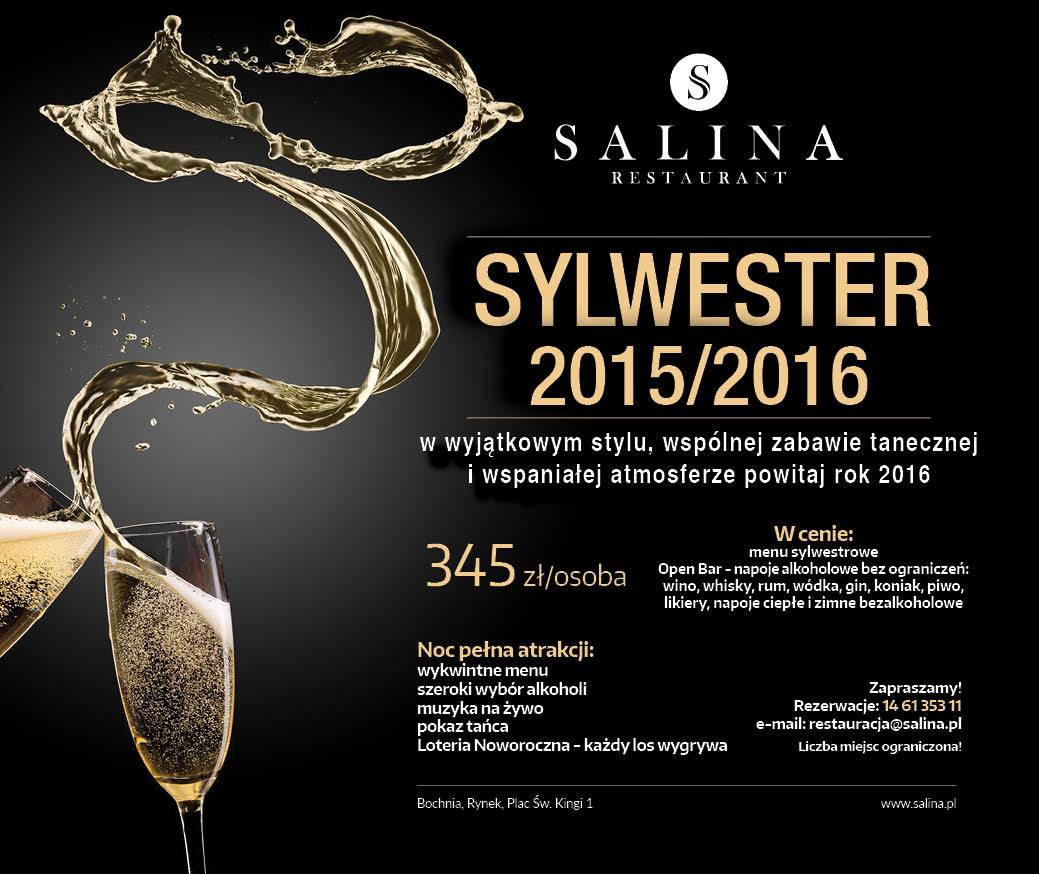 Sylwester w Salina Restaurant